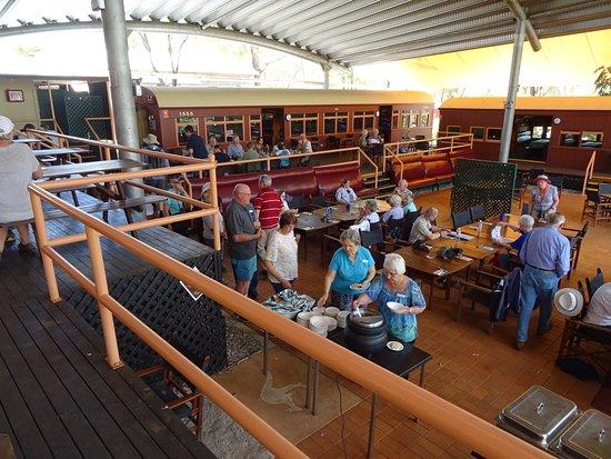 Undara Volcanic National Park, Australia: Dining area Undara Experience