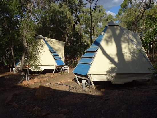 Undara Volcanic National Park, Australia: On site tents