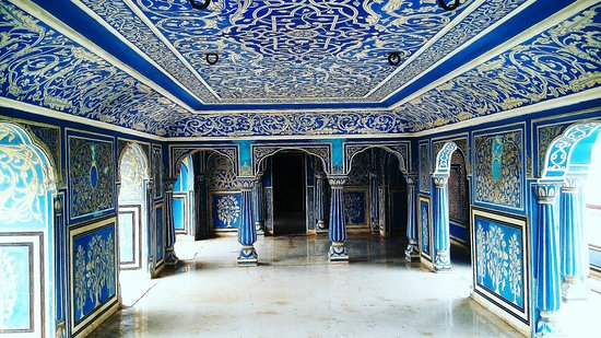 Inside View Of The Chandra Mahal The City Palace Of Jaipur Www