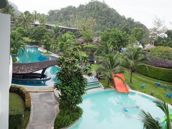 Holiday Inn Resort Krabi Ao Nang Beach Sicht Von Unserem Zimmer