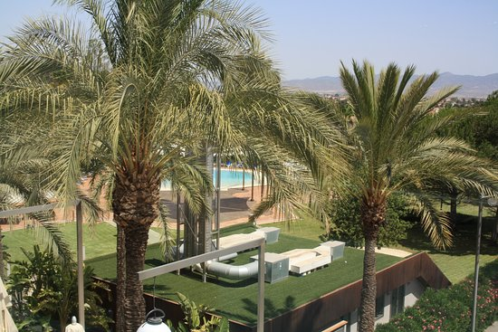 Piscina picture of hotel jardines de amaltea lorca for Hotel jardines lorca