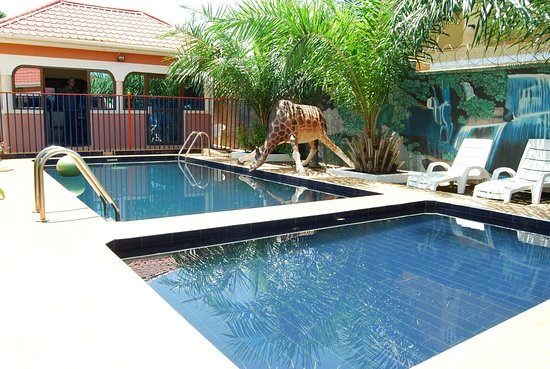 Swimming Pool - Picture of Memphis Guest House, Gulu ...