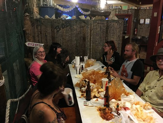 The Yabby Hut: Full and Happy!
