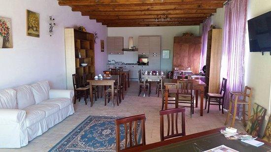 Grotte Santo Stefano, Italien: Sala per la colazione - utilizzabile anche in altre ore se occore