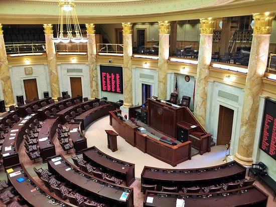 Arkansas State Capitol: I think this is The House Chambers.............