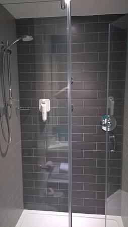 Good sized shower room