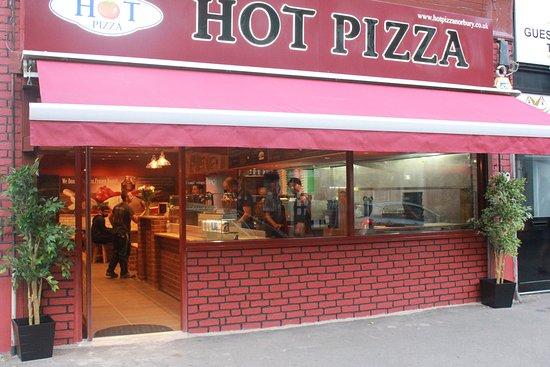 Hot Pizza London Restaurant Reviews Photos Phone