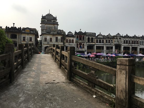 Kaiping, China: Sweets, food, architecture