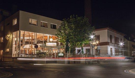 schöner Biergarten - Keiler Brauhaus, Lohr am Main