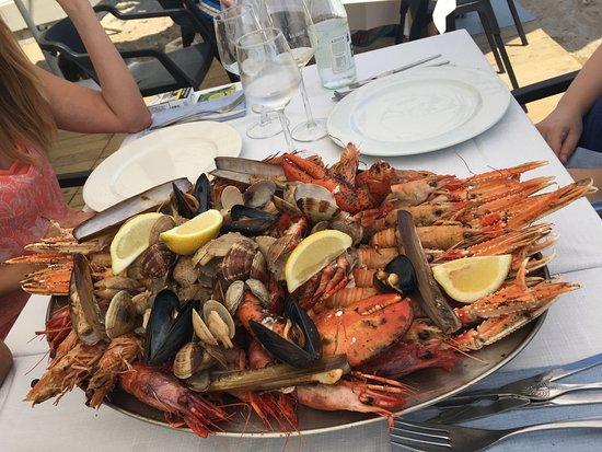 L'Ancora Restaurant: Mariscada en L'Ancora de Calafell