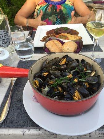 Sable-sur-Sarthe, Francia: Moules marinaire