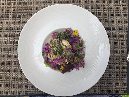 "Saint-Luc, سويسرا: Salade ""folle"""