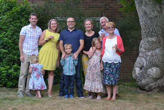 Suffolk, UK: Happy families at Southwold