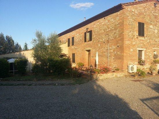 Agriturismo Certine : Casolare tipico Toscano