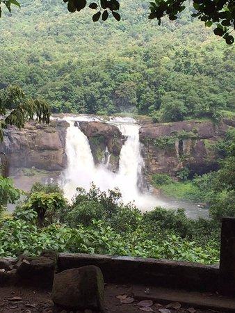 Athirapally Falls : fall view