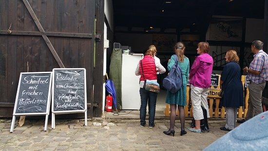 Trebbin, Alemania: Momentane Unterbringung der Küche