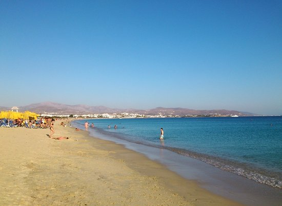Agios Prokopios, กรีซ: The lovely Agious Prokopious beach is just few minutes walk away