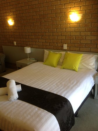 Mountain View Motor Inn & Holiday Lodge: Queen room