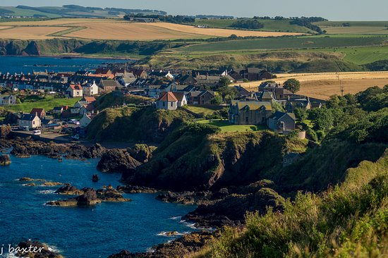 ‪‪St Abbs‬, UK: view of St Abbs‬