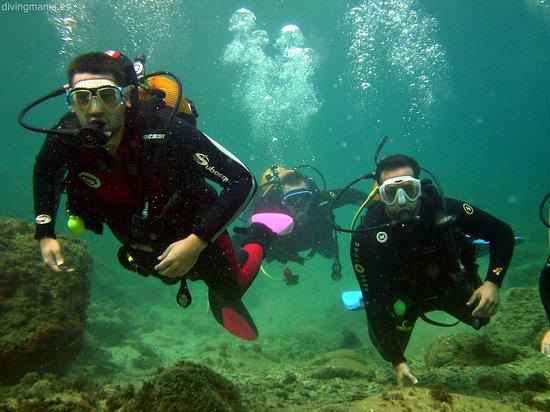 Palafrugell, Spanje: Bateig a Divingmania