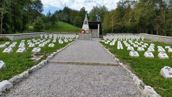 Cimitero militare di Val da Ros