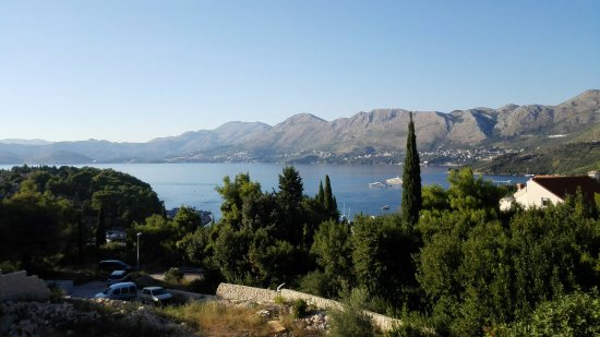 Villa Ana: Panorama dalla balconata