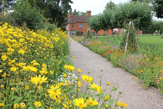 Lapworth, UK: But not just dahlias!