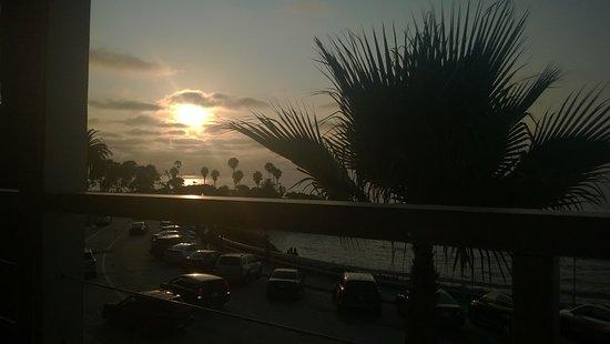 Sunset from Brockton Villa Restaurant