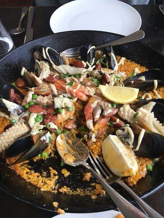 Williamstown, أستراليا: Paella