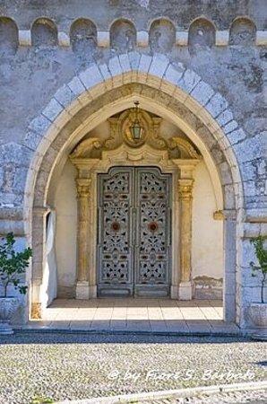 Ausonia, איטליה: Portale santuario Santa Maria del piano