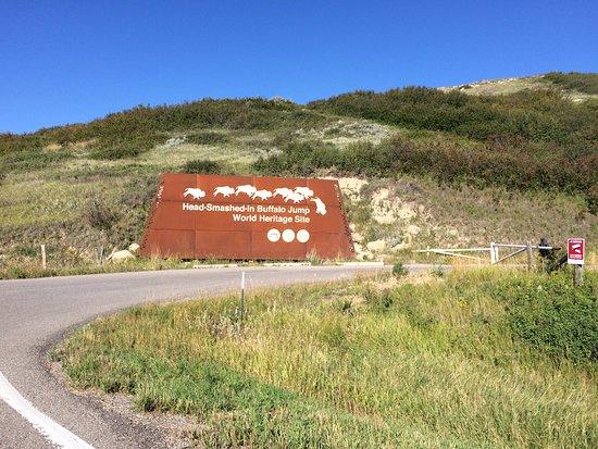 Fort Macleod, كندا: entrance