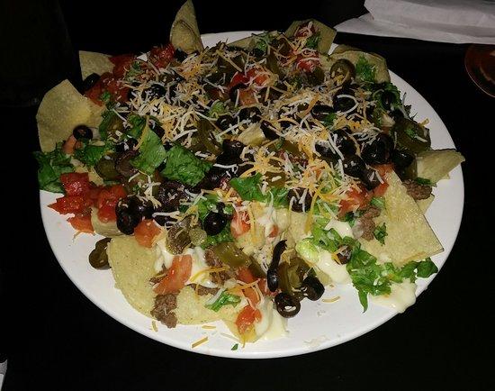 Warner Robins, GA: Loaded nachos...and lots of 'em