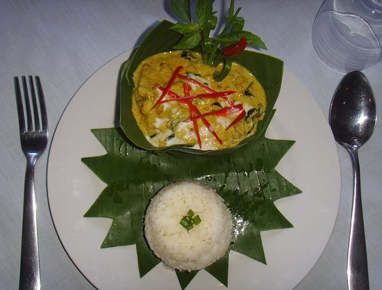 Khmer Green House: Amok Fish In Banana Cub