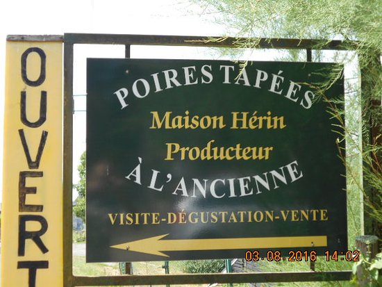 Maison Herin - Poires tapees a l'ancienne