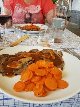 Roccaforte Mondovi, إيطاليا: Un buon pranzo.