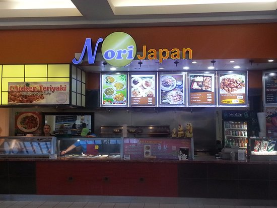 Lincolnwood, IL: counter of Nori Japan