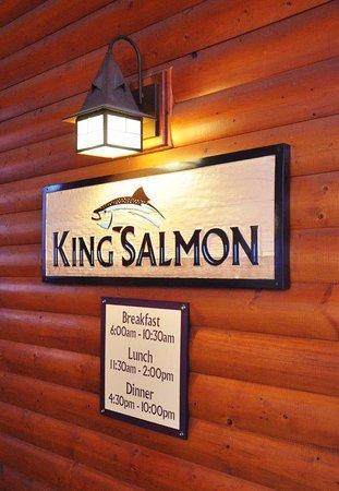 King Salmon: entrance