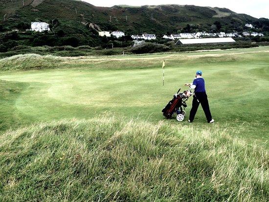 Aberdyfi (Aberdovey), UK: Aberdovey golf