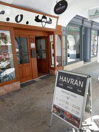 Литомышль, Чехия: Havran Steak Bar