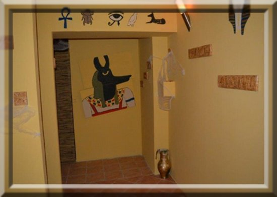 Vac, Hongarije: Múmia szoba