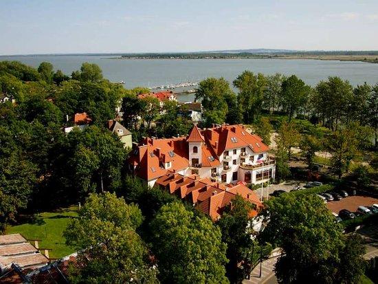 Dworek Morski Mielno: widok na Hotel