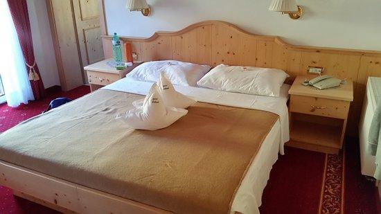 Garni Schenk: Il letto nella Camera Nr. 11