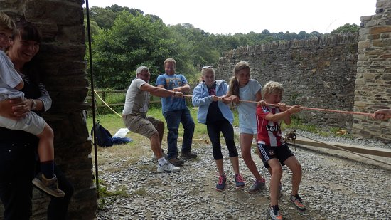 Tavistock, UK: Stretching the rope