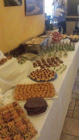 Cima, İtalya: Buffet