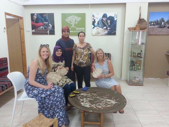 Kfar Cana, Israel: baskets weaving worshops