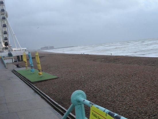 Brighton Beach: spiaggia e mare