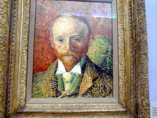 Kelvingrove Art Gallery and Museum: Портрет работы Ван-Гога в Kelvingrove Art