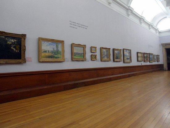 Kelvingrove Art Gallery and Museum: Зал импрессионистов, стена 2