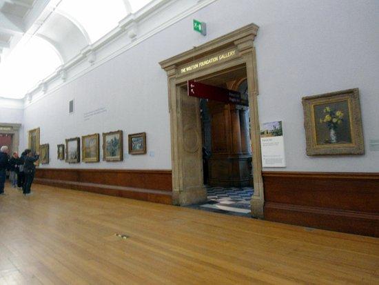 Kelvingrove Art Gallery and Museum: Зал импрессионистов, стена 1