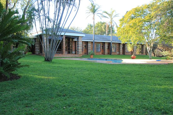 Pongola, Sudáfrica: Main building in which breakfast is served
